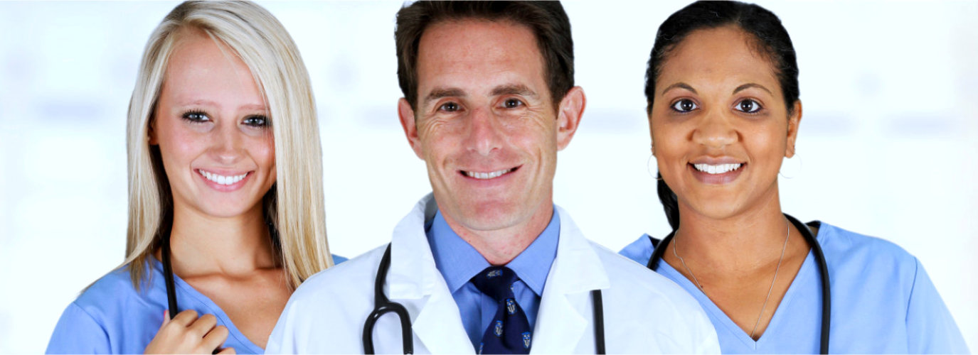 medical doctors smiling